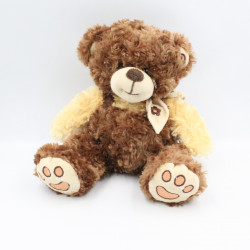 Doudou peluche ours marron beige ALTHANS CLUB