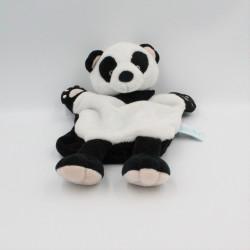 Doudou marionnette panda noir blanc BABY NAT