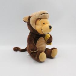 Peluche Winnie l'ourson déguisé en singe Collection Disney