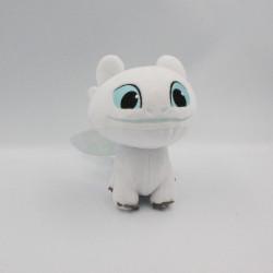 Peluche dragon blanc Furie Eclair DREAMWORKS 2019