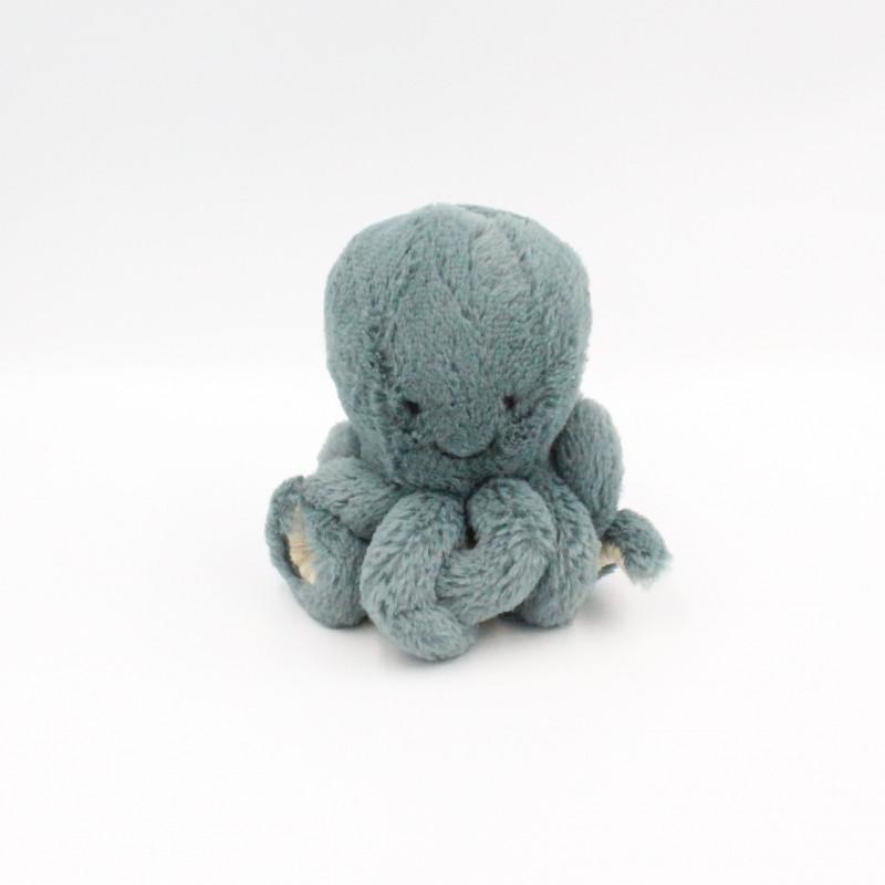 Petit Doudou pieuvre bleu Odell Octopus JELLYCAT 14 cm