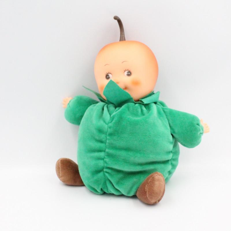 Peluche poupée les Toufous pomme verte GIPSY