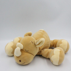 Doudou rhinocéros beige NOUKIE'S