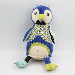 Doudou oiseau pingouin bleu Frigos DEGLINGOS