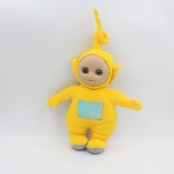 Doudou peluche TELETUBBIES jaune Lala Laa-laa TOMY 26 cm