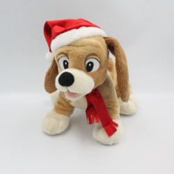 Peluche chien Rox Noël de...