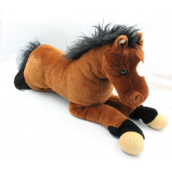 Grande peluche cheval NICOTOY