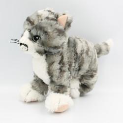 Doudou chat tigré gris IKEA