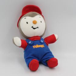 Doudou Tchoupi bleu rouge casquette JEMINI