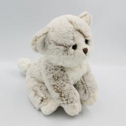 Doudou chat beige blanc SIMBA TOYS NICOTOY