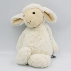 Doudou peluche mouton blanc...
