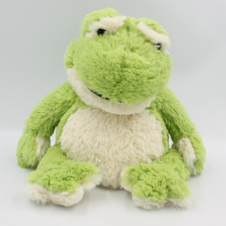 Doudou bouillotte grenouille INTELEX