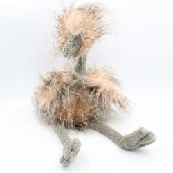 Peluche oiseau Odette l'autruche JELLYCAT