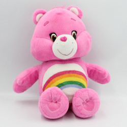 Peluche Bisounours rose Tougentille Hug & Giggle CARE BEARS