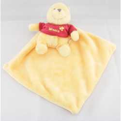 Doudou plat Winnie l'ourson mouchoir DISNEY BABY