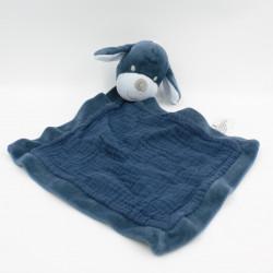 Doudou plat chien bleu marine KIABI SIMBA TOYS