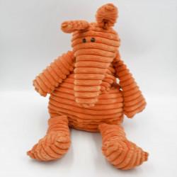 Doudou peluche tamanoir orange JELLYCAT