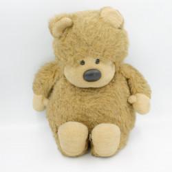 Ancienne peluche ours beige marron AJENA Vintage
