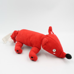 Doudou musical chien renard rouge IKEA