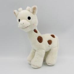Doudou sophie la girafe blanche marron VULLI
