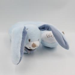 Tour de cou Doudou lapin bleu Bibou NATTOU
