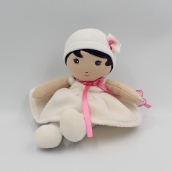 Doudou poupée blanc rose KALOO