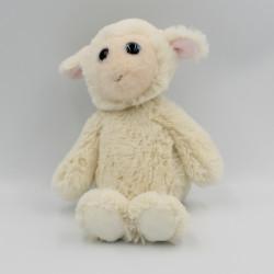 Doudou peluche mouton blanc TY RACHEL