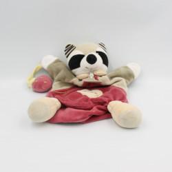 Doudou et compagnie plat raton laveur Isidro fraise