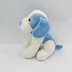 Doudou chien bleu blanc...