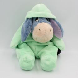 Doudou Bourriquet en pyjama vert Disney 30 cm