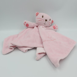 Doudou plat chat rose PRIMARK EARLY DAYS