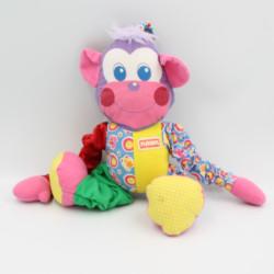 Doudou singe multicolore PLAYSKOOL