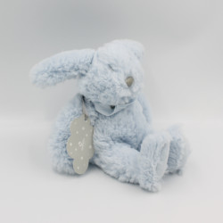 Doudou lapin bleu ABSORBA