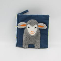 Livre Doudou en tissu mouton chat miroir