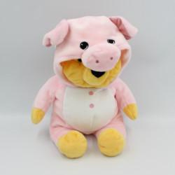 Doudou peluche Winnie l'ourson déguisé en cochon DISNEY NICOTOY