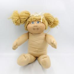 Ancienne Poupée avec nattes Cabbage patch kids Jesmar Patouf 1978-84
