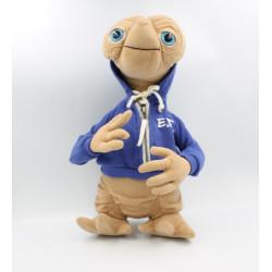 Peluche E.T. l' extra terrestre sweat bleu UNIVERSAL STUDIOS