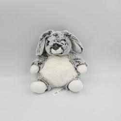 Doudou lapin blanc gris tout doux SIMBA TOYS NICOTOY