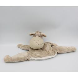 Doudou marionnette cheval beige HISTOIRE D'OURS