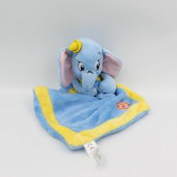 Doudou plat Dumbo l'éléphant bleu jaune DISNEY NICOTOY