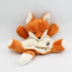 Doudou marionnette renard orange Les Amis KALOO
