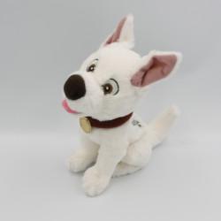 Doudou peluche chien blanc VOLT DISNEYLAND