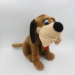 Peluche chien marron Saint Hubert