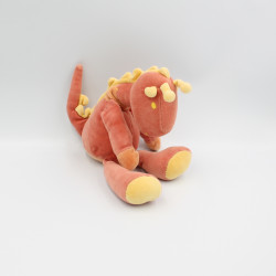 Doudou dragon rouge jaune MARESE