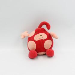 Doudou fraise rouge rose...