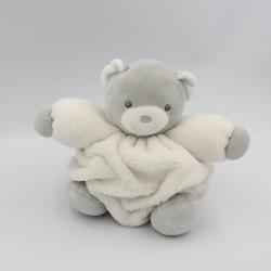 Doudou ours plume gris blanc KALOO