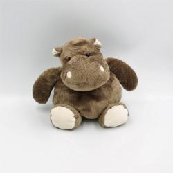 Doudou hippopotame marron HISTOIRE D'OURS