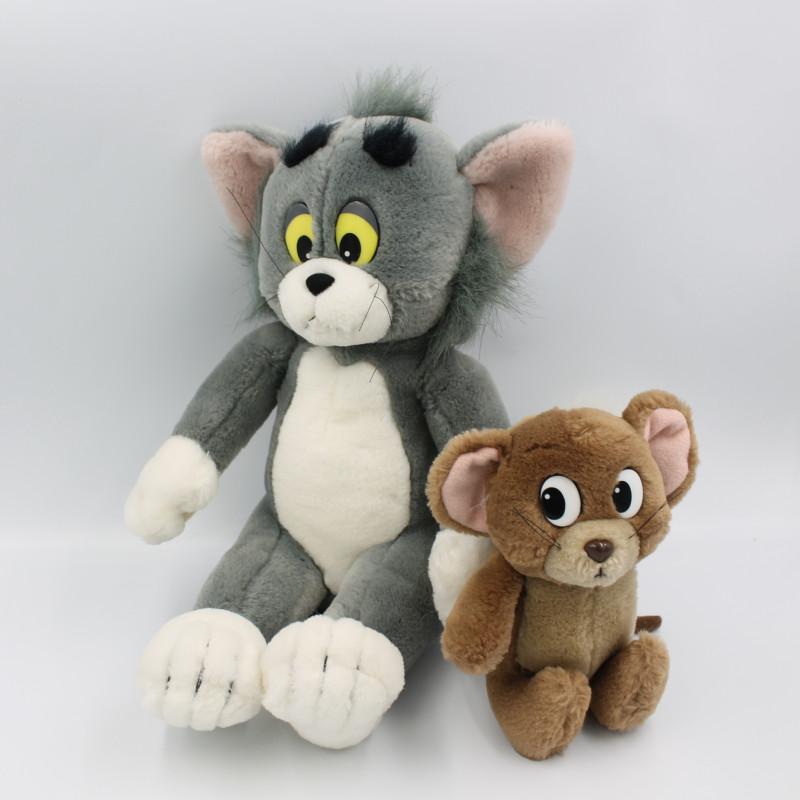Peluche souris et chat Tom et Jerry NICOTOY 1991