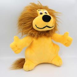 Doudou peluche lion tee shirt CREDIT LYONNAIS LCL