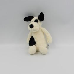 Doudou chien blanc noir JELLYCAT